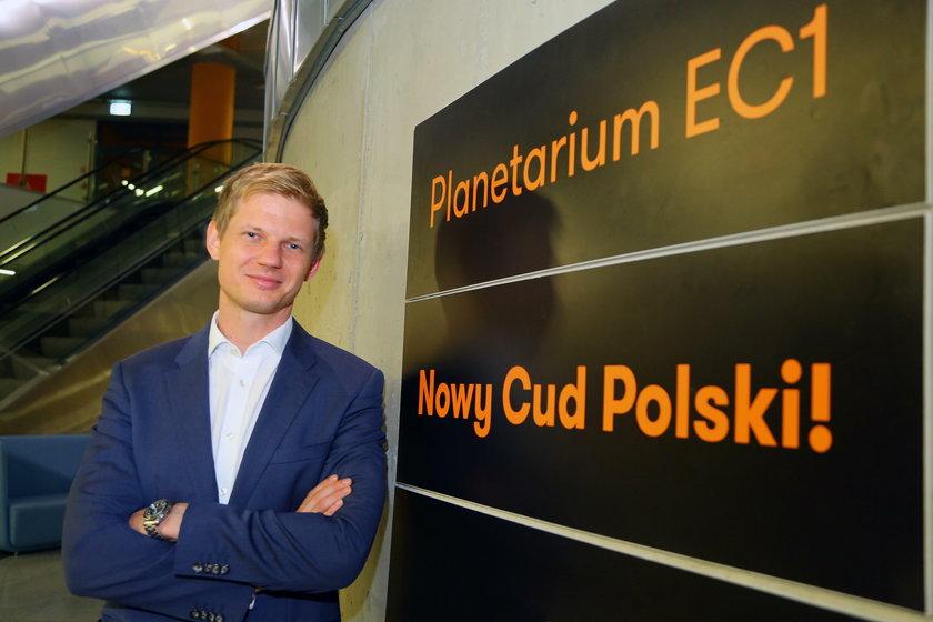 Błażej Moder EC1 Łódź Miasto Kultury