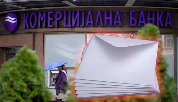 Dostavljene tri obavezujuće ponude za kupovinu Komercijalne banke