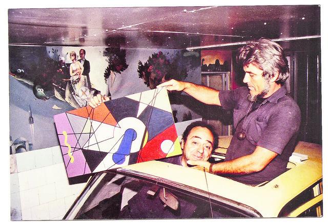 Trampa sa Milićem od Mačve (jedina slika koju je Dragiša naslikao)