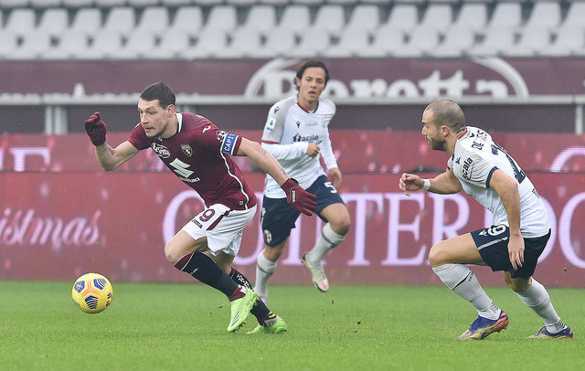 Detalj sa meča Torino - Bolonja