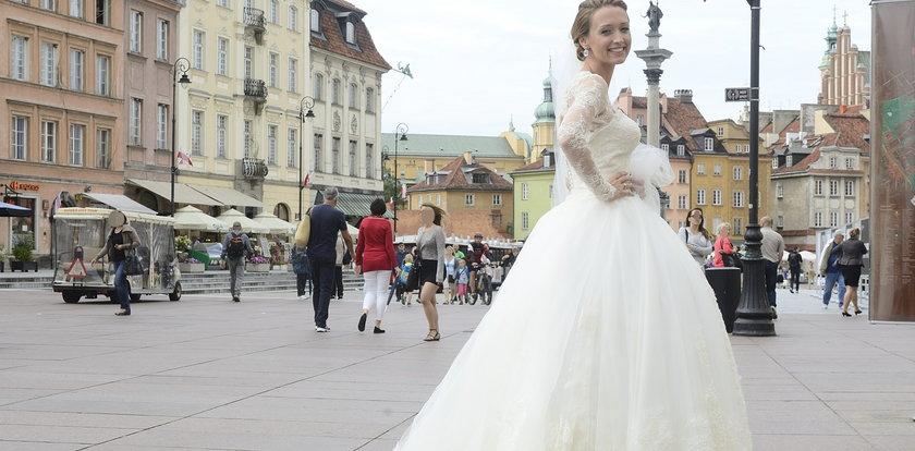 Wszystko o sukni ślubnej znanej aktorki