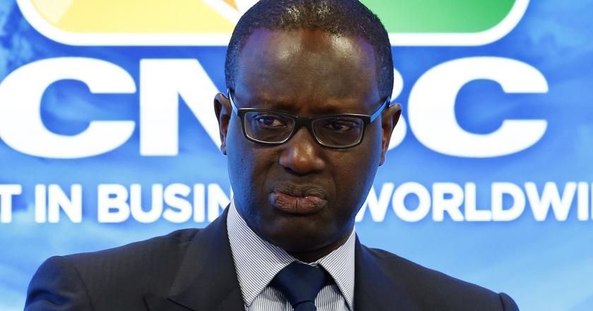 Tidjane Thiam, CEO banku Credit Suisse