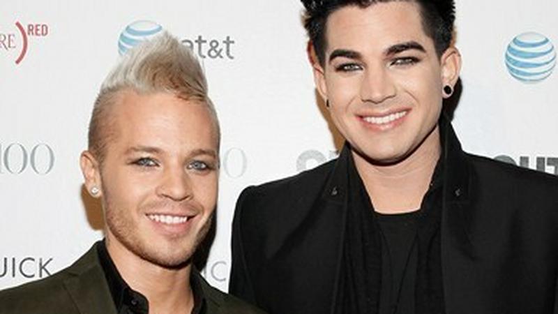 Adam Lambert i Sauli Koskinen (fot. Getty Images)