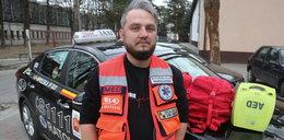 Jestem taksówkarzem i ratownikiem