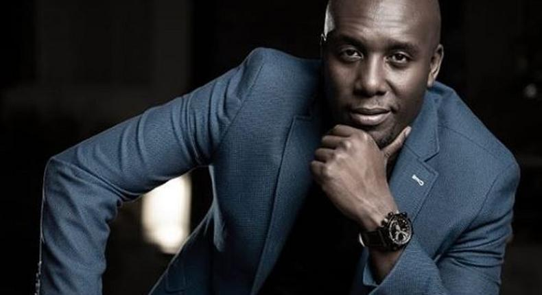 Dennis Okari's message to wife as they celebrate first anniversary
