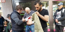 Atak nożownika przed ambasadą w Brukseli. Trzy osoby ranne
