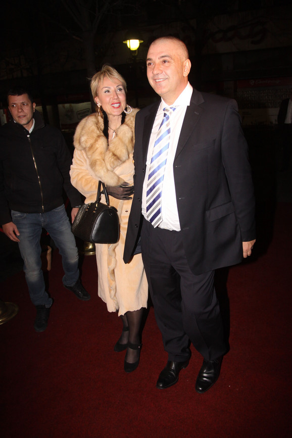 Boba Živojinović i Lepa Brena