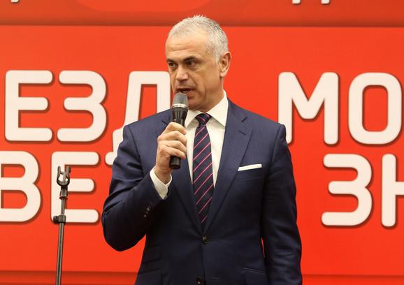 Zvezdan Terzić, generalni direktor Fudbalskog kluba Crvena zvezda