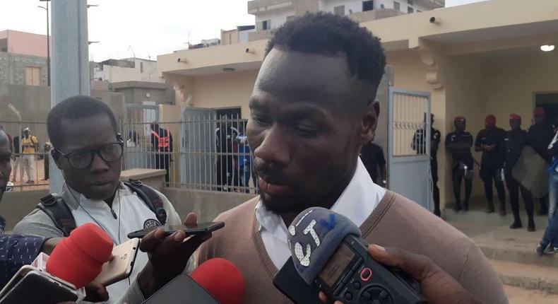 Pape Thiaw - ex-footballeur international sénégalais, entraîneur de NGB (ligue 1 sénégalaise)