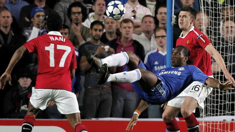 Didier Drogba strzelamkę Man Utd