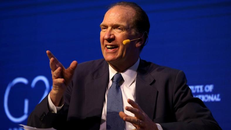 David Malpass, a U.S. national and Under Secretary for International Affairs, U.S. Department of the Treasury
