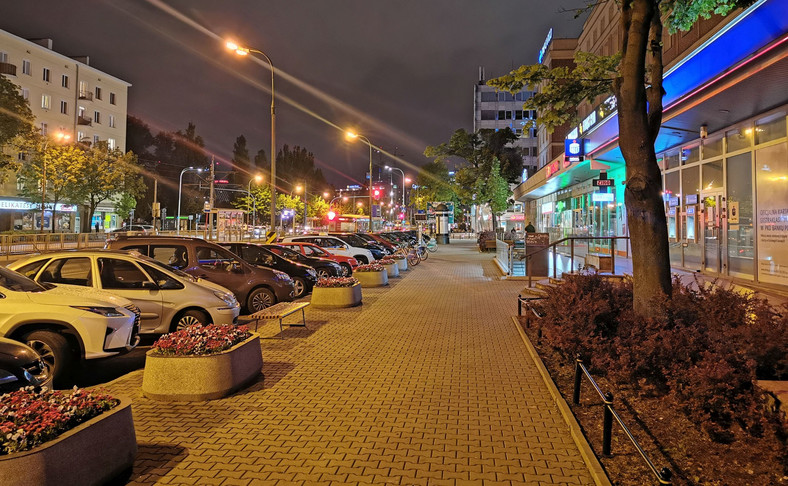 Tryb nocny - zdjęcie wykonane Huaweiem P30 Pro