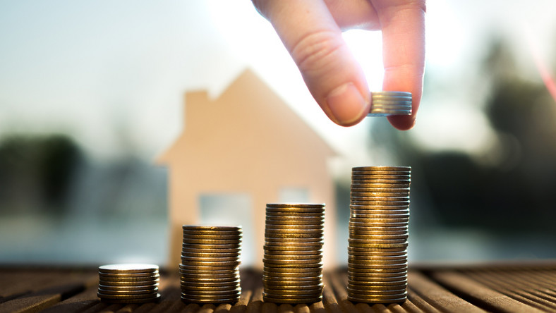 pieniądze dom nieruchomości fot. shutterstock
