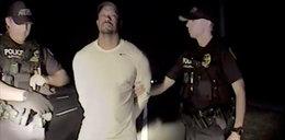 Nagranie Tigera Woodsa z aresztu. Gwiazdor w kajdankach!