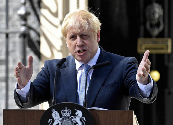 Džonson: Neka vrsta evropskog trampa, koga su proslavili problematične izjave poput one o EU kao dostignutom Hitlerovom cilju o ujedinjenoj Evropi