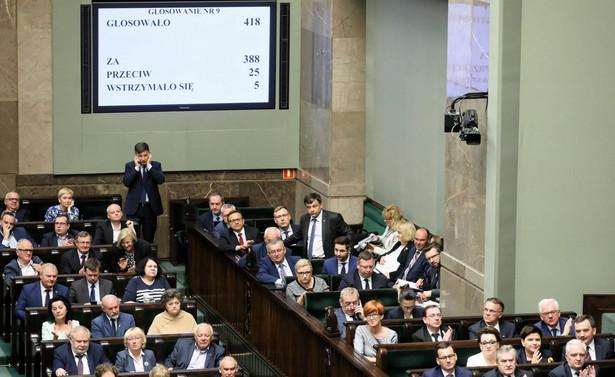 Wynik głosowania nad zmianami w ustawie o IPN.