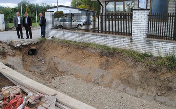 Kanal spas za naselje Radujevački put