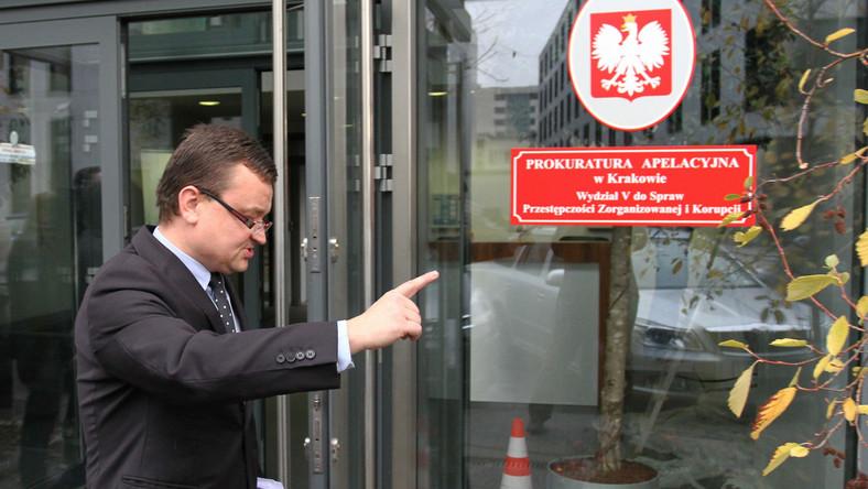Piotr Kosmaty z krakowskiej prokuratury