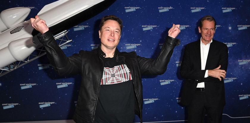 Elon Musk. Historia człowieka, który chce byćpochowany na Marsie