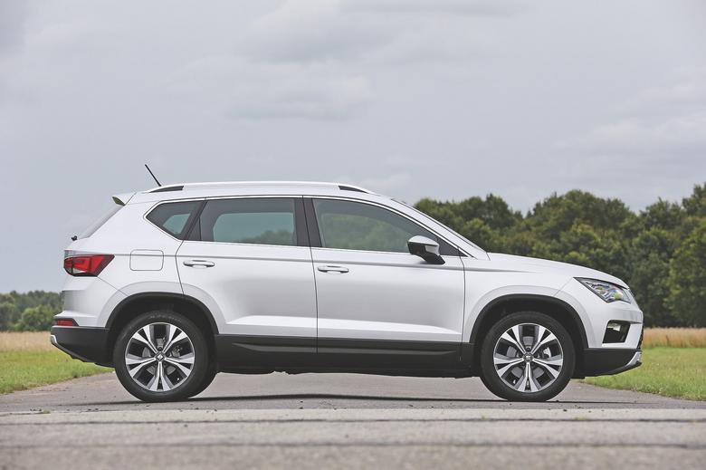 Hiszpański saper: Seat Ateca kontra Kia Sportage, Nissan Qashqai i Ford Kuga