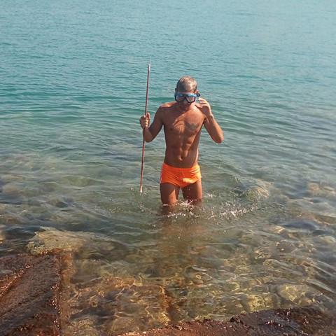 Kako on lovi ribe? FOTO