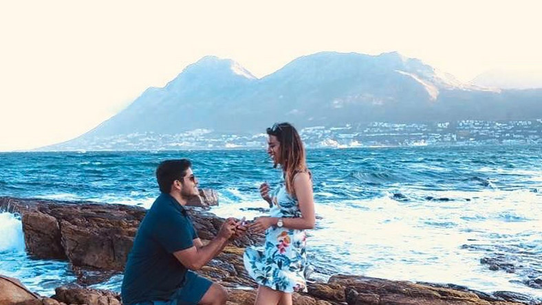 K24 News Anchor Shiksha Arora gets engaged to longtime boyfriend (Instagram/Shiksha Arora)