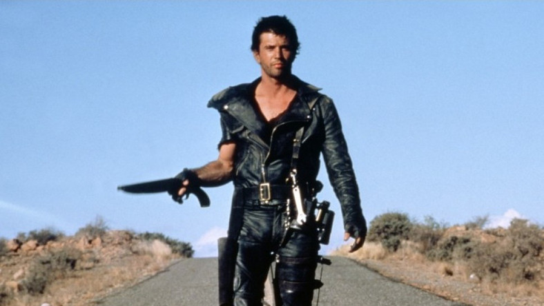 """Mel Gibson w filmie """"Mad Max"""""""