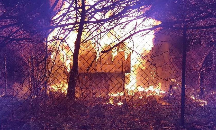 Związał 39-latkę i podpalił budynek. Makabryczna zbrodnia w Krakowie