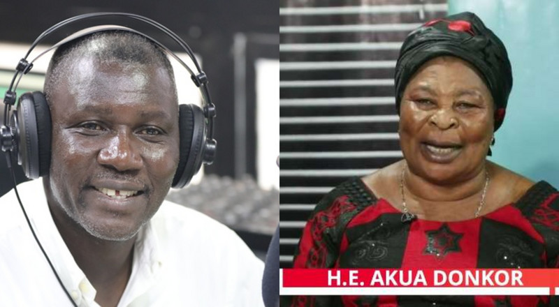 Akua Donkor names Neat FM's Adakabre Frimpong Manso as running mate