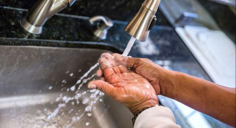 There is zero change when you wash your hands with hot water instead of cold.