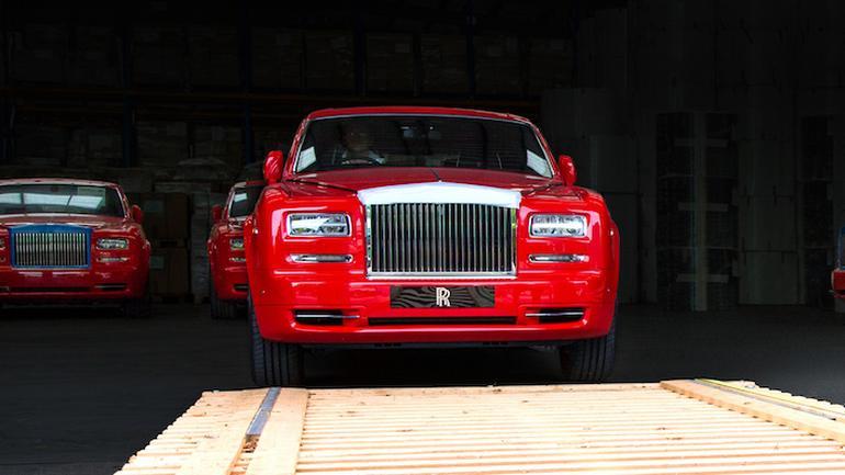 Rolls-Royce Phantom dla Makao
