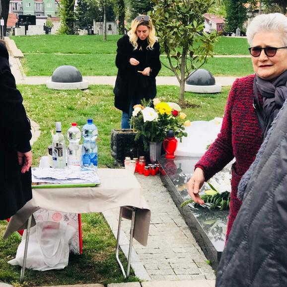 Milena Dravić, šestomesečni pomen