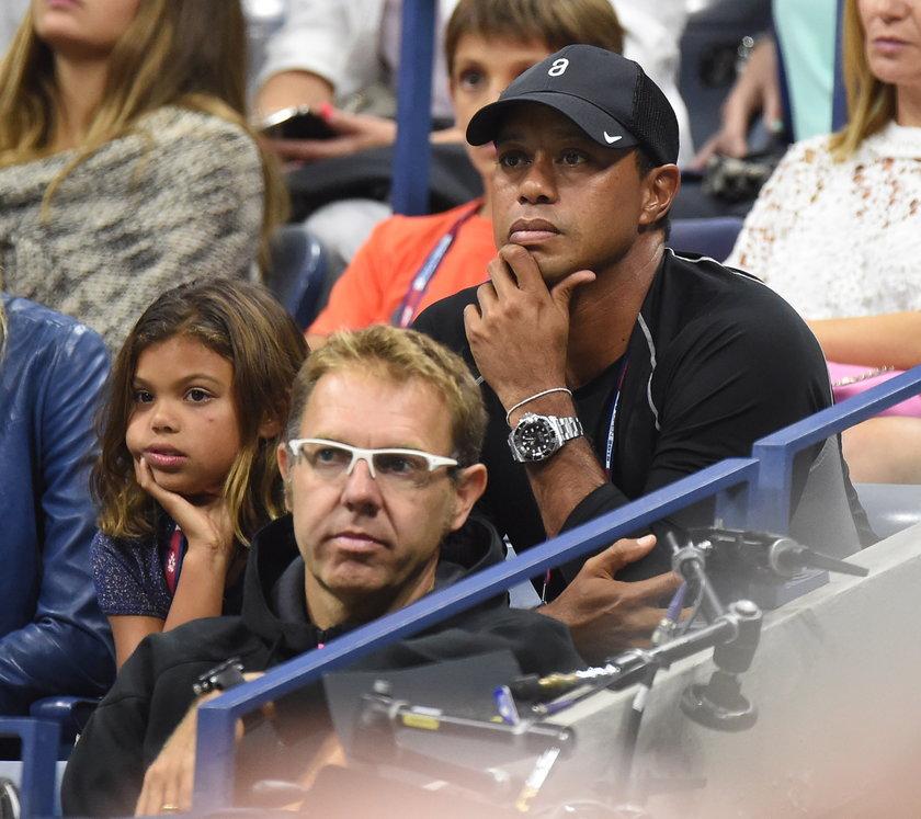 Tiger Woods pokazał córeczkę!