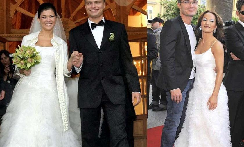 Steczkowska i Cichopek w tej samej sukni