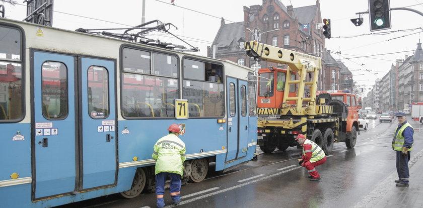 Tu wykolejają się tramwaje