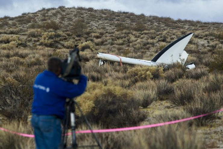 "Ostaci letelice ""Virdžin galaktika"" su nađeni u pustinji Mohave"