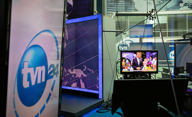 Studio telewizyjne TVN24