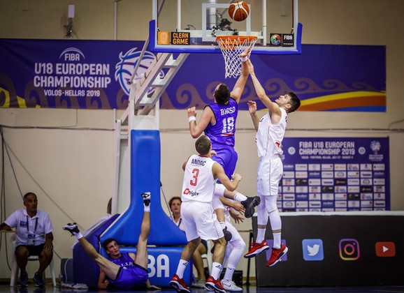 Srbija u18 košarka