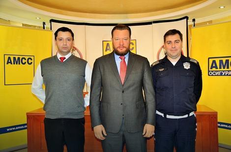 Predrag Đurđev, Mirko Butulija i Nebojša Arsov posle konferencije