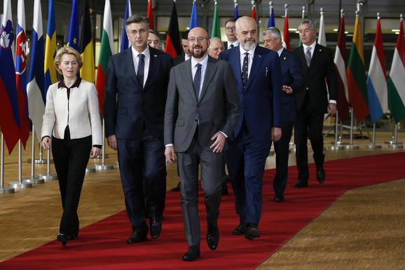 Neformalna večera za lidere ZB u Briselu