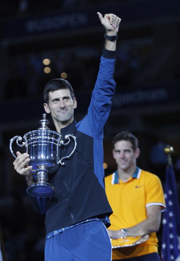 Novak Đoković slavi titulu na US Openu