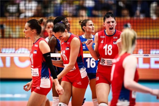 Tijana Bošković je bila najbolja u trijufmu Srbije protiv Italije u finalu SP