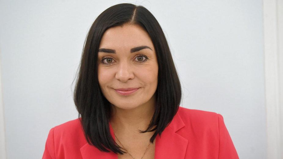 Pomorska posłanka i rzecznik Porozumienia Magdalena Sroka