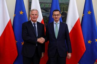 Premier po spotkaniu z Barnierem: Stoimy w obronie praw Polaków w Wielkiej Brytanii