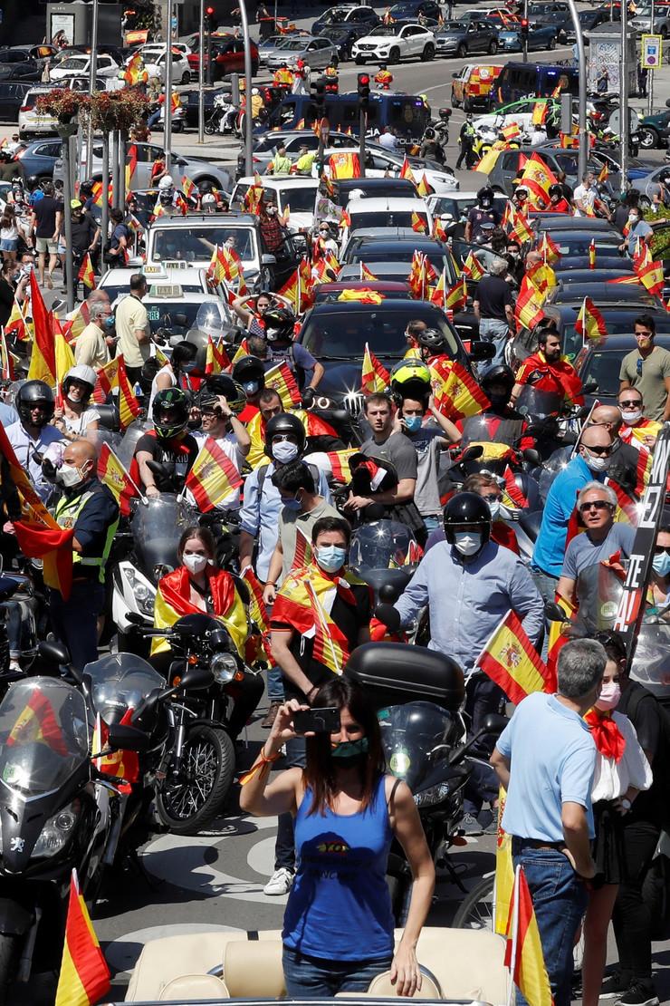 Protest u Madridu