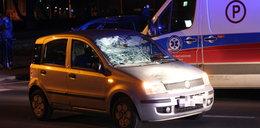 Koszmarny wypadek! Ojciec z synkiem pod kołami samochodu