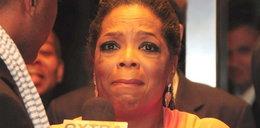 I polały się łzy Oprah