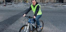 Ktoś ukradł rower Chęcińskiemu!