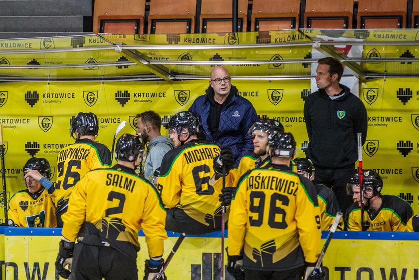 Risto Dufva (56 l.) nie jest trenerem hokeistów GKS Katowice.