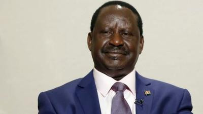 Raila speaks for the first time after being admitted in Nairobi Hospital